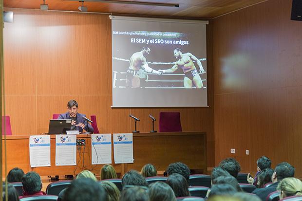 Charla Marketing digital en la Universidad de Almería