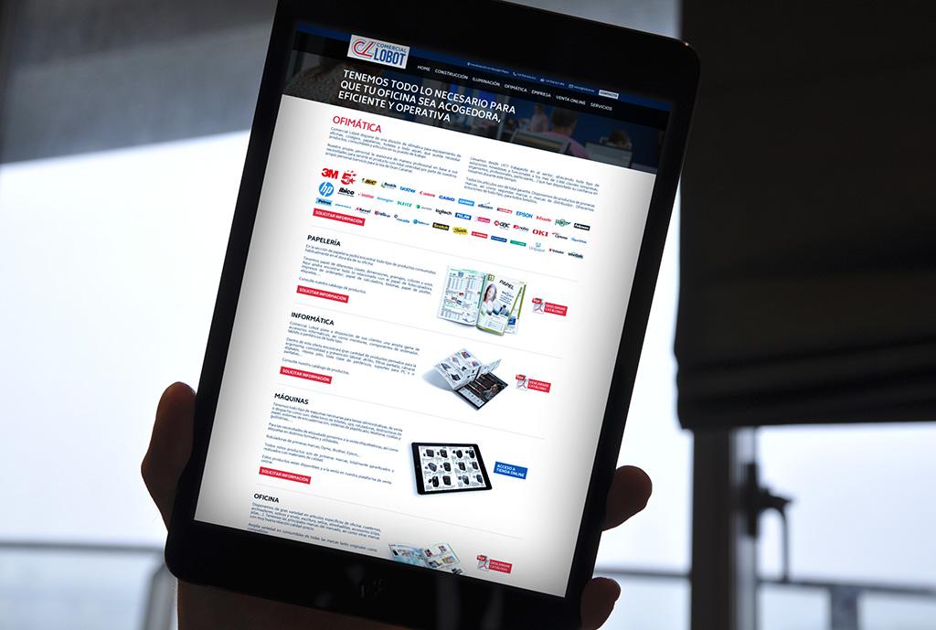 Comercial-Lobot-en-Tablet