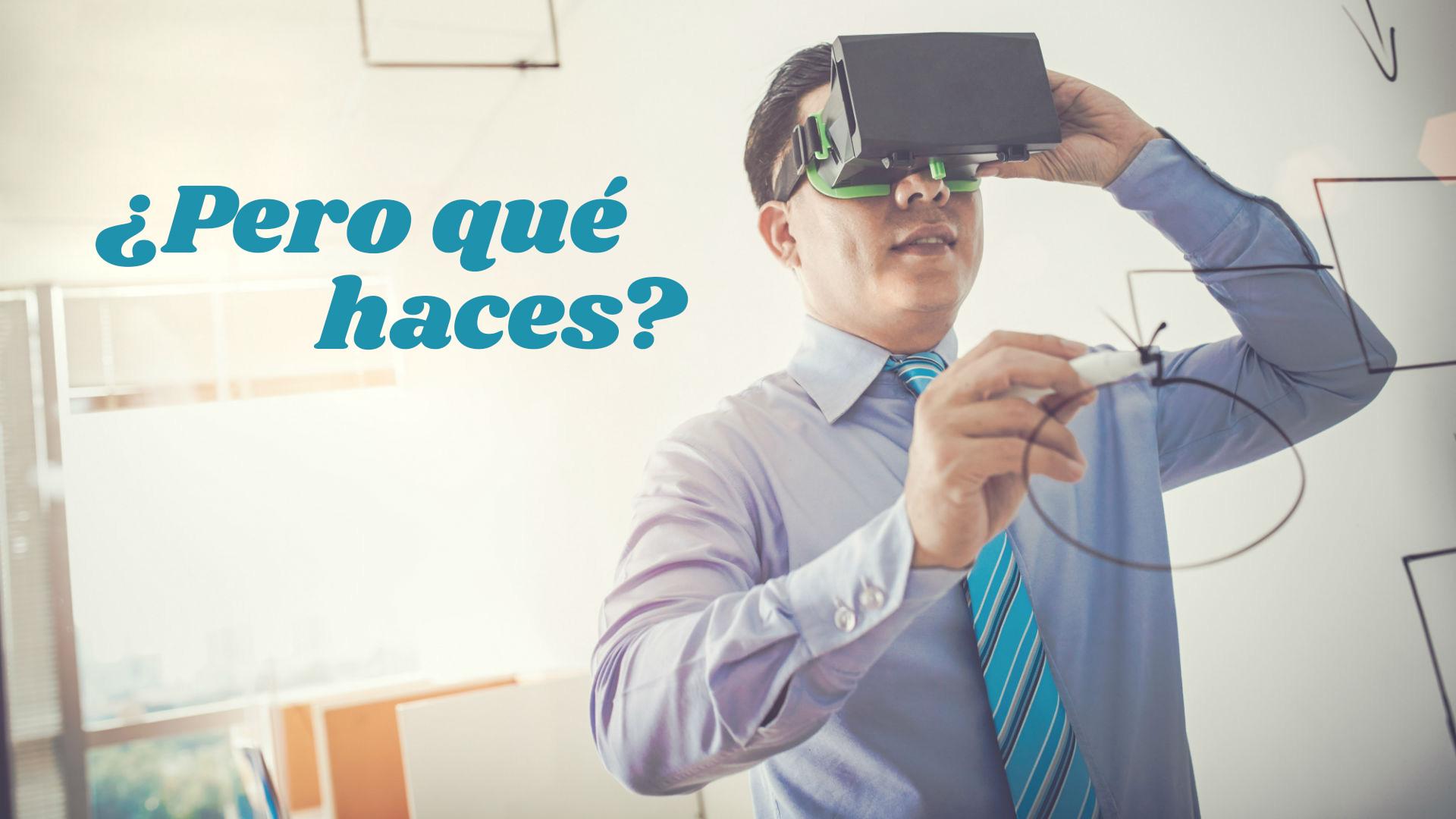 Confundido con la realidad virtual