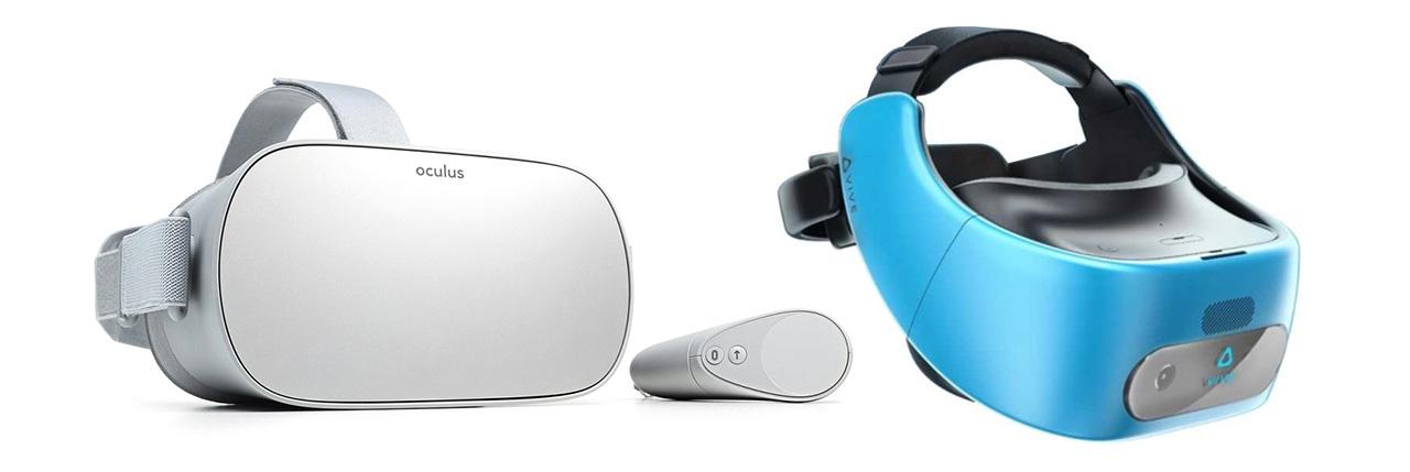 Oculus GO y HTC VIVE Focus