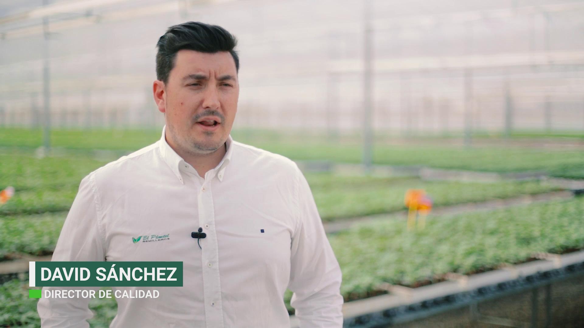David Sánchez de El Plantel Semilleros