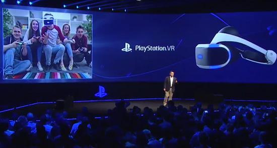 Presentación del HMD de Sony