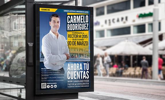 Carmelo Rodríguez, candidato a Rector de la UAL