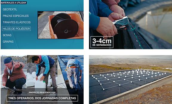 Tutorial sobre instalación de geotextil