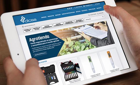 DICSA, tienda online