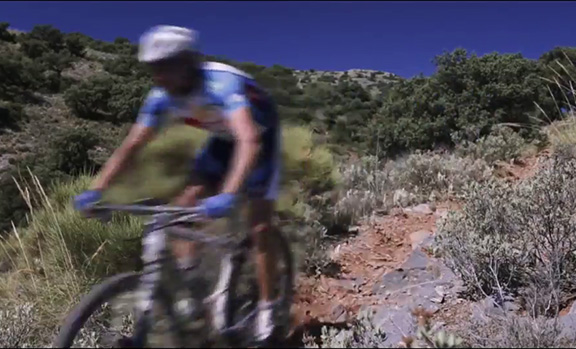 Test of equipments with Mountain Bikes in Almería