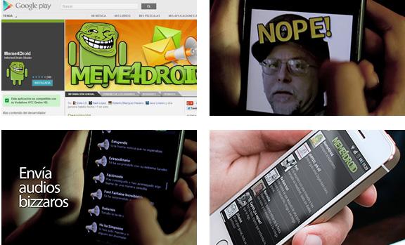 Meme4droid, comparte memes desde tu android
