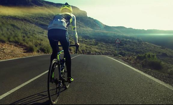Promocional para el sector ciclismo