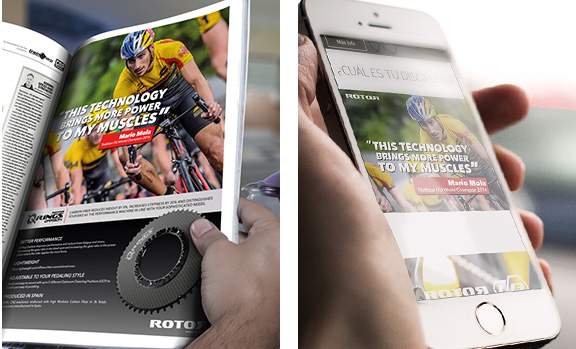 Imagen de campañas para Rotor Bike Components