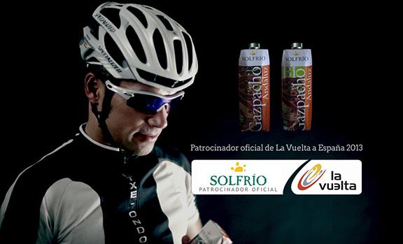 Patrocinio de Solfrío a La Vuelta a España 2013