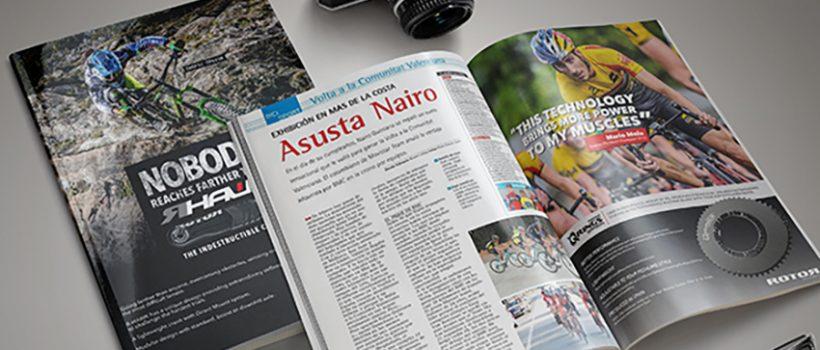 Imagen de campaña de Mario Mola y RHawk en revista