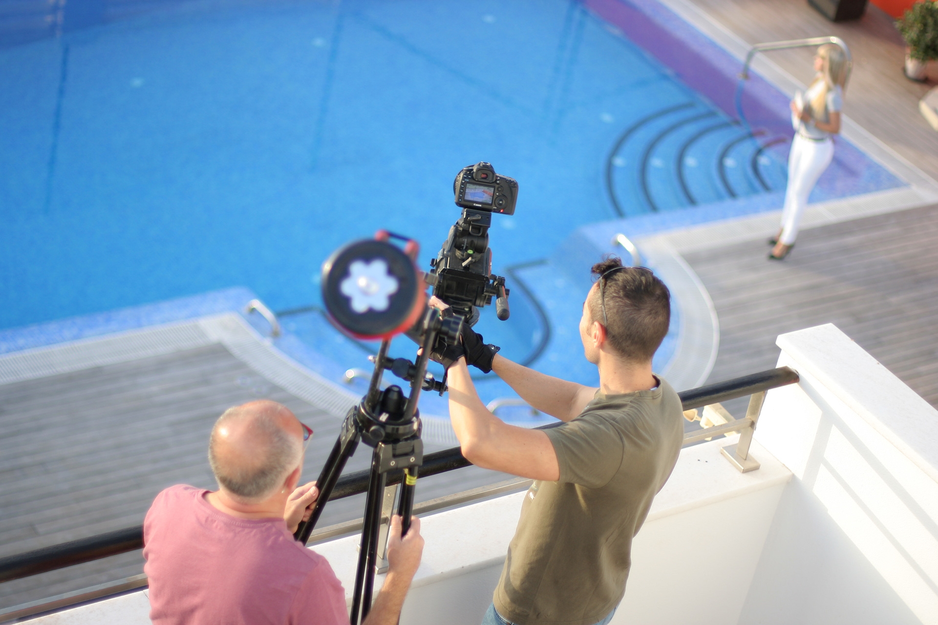 Making of del rodaje de Grupo Tecnon